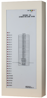 F40 addressable fire alarm control panel